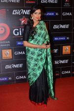 Shreya Ghoshal at 4th Gionne Star Global Indian Music Academy Awards in NSCI, Mumbai on 20th Jan 2014