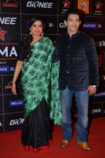 Shreya Ghoshal, Aditya Narayan at 4th Gionne Star Global Indian Music Academy Awards in NSCI, Mumbai on 20th Jan 2014 (483)_52de353f99b6b.JPG