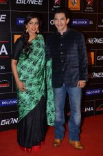 Shreya Ghoshal, Aditya Narayan at 4th Gionne Star Global Indian Music Academy Awards in NSCI, Mumbai on 20th Jan 2014 (487)_52de354088ddf.JPG