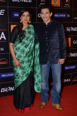 Shreya Ghoshal, Aditya Narayan at 4th Gionne Star Global Indian Music Academy Awards in NSCI, Mumbai on 20th Jan 2014 (488)_52de354103b22.JPG
