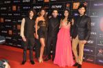 Shreyas Pardiwalla, Nicole Faria, Himansh Kohli, Rakul Preet, Dev Sharma at 4th Gionne Star Global Indian Music Academy Awards in NSCI, Mumbai on 20th Jan 2014 (3_52de345e57436.JPG