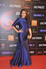 Sonakshi Sinha at 4th Gionne Star Global Indian Music Academy Awards in NSCI, Mumbai on 20th Jan 2014