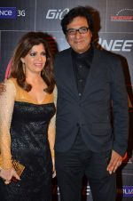 Talat Aziz, Bina Aziz at 4th Gionne Star Global Indian Music Academy Awards in NSCI, Mumbai on 20th Jan 2014 (378)_52de35c7e70b7.JPG