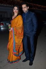 Shweta Bhardwaj, Salil Acharya at Amita Pathak & Raghav Sachar_s wedding ceremony in Mumbai on 21st Jan 2014 (42)_52df88e32bda7.JPG