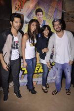 Varun Dhawan, Ileana Dcruz, Ekta Kapoor, Rohit Dhawan at the First Look Launch of Main Tera Hero in PVR, Juhu, Mumbai on 23rd Jan 2014 (149)_52e209ae4781e.JPG