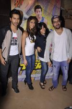 Varun Dhawan, Ileana Dcruz, Ekta Kapoor, Rohit Dhawan at the First Look Launch of Main Tera Hero in PVR, Juhu, Mumbai on 23rd Jan 2014 (150)_52e209d8929dc.JPG