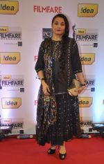 Salma Agha walked the Red Carpet at the 59th Idea Filmfare Awards 2013 at Yash Raj_52e39f470ed0e.jpg