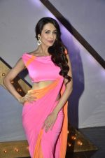 Malaika Arora Khan stunning in a shivan naresh saree in Mumbai on 25th Jan 2014 (30)_52e4b440d5f13.JPG
