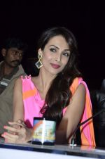 Malaika Arora Khan stunning in a shivan naresh saree in Mumbai on 25th Jan 2014 (4)_52e4b4377d9b3.JPG