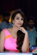 Malaika Arora Khan stunning in a shivan naresh saree in Mumbai on 25th Jan 2014 (49)_52e4b447d2d3e.JPG
