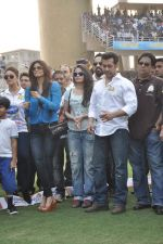 Salman Khan at CCL match in D Y Patil, Mumbai on 25th Jan 2014 (28)_52e4e44d9c4ae.JPG