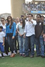 Salman Khan at CCL match in D Y Patil, Mumbai on 25th Jan 2014 (29)_52e4e44ec4813.JPG