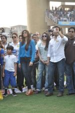 Salman Khan at CCL match in D Y Patil, Mumbai on 25th Jan 2014 (30)_52e4e4502352a.JPG