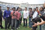 Salman Khan at CCL match in D Y Patil, Mumbai on 25th Jan 2014 (45)_52e4e454ac6e4.JPG