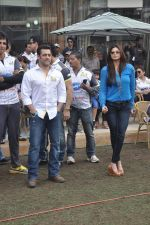 Salman Khan at CCL match in D Y Patil, Mumbai on 25th Jan 2014 (5)_52e4e43f970bc.JPG