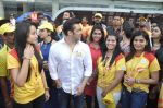 Salman Khan at CCL match in D Y Patil, Mumbai on 25th Jan 2014 (67)_52e4e45c98599.JPG