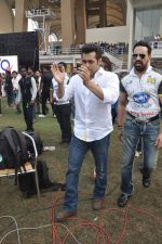 Salman Khan at CCL match in D Y Patil, Mumbai on 25th Jan 2014 (8)_52e4e44305682.JPG