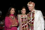 Juhi Chawla with the couple at Raageshwari Loomba and Sudhanshu Swaroop Wedding in Four Seasons on 27th Jan 2014_52ecc0a8ec484.jpg