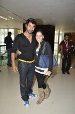 Shabbir Ahluwalia at CCL Match of Mumbai Heroes Vs Telugu Warriors in Dubai on 1st Feb 2014 (11)_52ee1ecc47c89.JPG