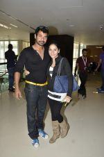Shabbir Ahluwalia at CCL Match of Mumbai Heroes Vs Telugu Warriors in Dubai on 1st Feb 2014 (12)_52ee1eccaf70e.JPG