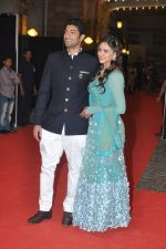 Vaibhav Arora, Ahana Deol at Ahana Deol_s Wedding Ceremony in ITC Maratha, Mumbai on 1st Feb 2014 (26)_52ee1121b7f58.JPG