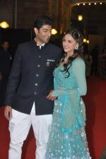 Vaibhav Arora, Ahana Deol at Ahana Deol_s Wedding Ceremony in ITC Maratha, Mumbai on 1st Feb 2014 (27)_52ee112f02748.JPG