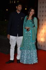 Vaibhav Arora, Ahana Deol at Ahana Deol_s Wedding Ceremony in ITC Maratha, Mumbai on 1st Feb 2014(123)_52ee112397eff.JPG