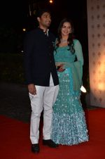 Vaibhav Arora, Ahana Deol at Ahana Deol_s Wedding Ceremony in ITC Maratha, Mumbai on 1st Feb 2014(129)_52ee1125d5cb7.JPG