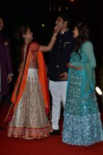 Vaibhav Arora, Ahana Deol, Esha Deol at Ahana Deol_s Wedding Ceremony in ITC Maratha, Mumbai on 1st Feb 2014(129)_52ee112648fcc.JPG