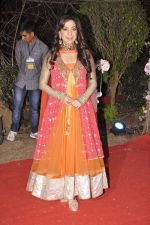 Juhi Chawla at Ahana Deol_s Wedding Reception in Mumbai on 2nd Feb 2014 (73)_52efa2236e0a5.JPG