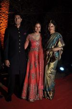 Vaibhav Arora, Ahana Deol, Rekha at Ahana Deol_s Wedding Reception in Mumbai on 2nd Feb 2014 (53)_52efa3ebb2ed7.JPG