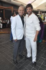 Naved jaffrey surprise birthday bash hosted by wife Sayeeda Jaffrey in Mangii Cafe, Mumbai on 3rd Feb 2014 (84)_52f0847cbca26.JPG