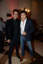 Arjun Punj at Siddharth Kannan_s wedding reception with Neha in Mumbai on 4th Feb 2014 (70)_52f203063a32a.JPG
