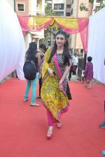 Ragini Khanna at Anurag Basu_s Saraswati pooja in Mumbai on 4th Feb 2014 (52)_52f1da515dd76.JPG