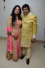 richa sharma & bhavdeep jaipurwale at Music Maestro Pt. Bhavdeep Jaipurwale_s Son Sudeep Jaipurwale_s Sangeet on 5th Feb 2014_52f4a30387358.JPG
