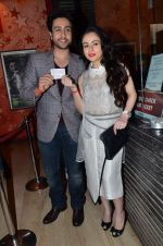 Adhyayan Suman and Ariana Ayam at Heartless promotions in Cinemax, Mumbai on 7th Feb 2014 (38)_52f59d78cc467.JPG