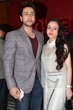 Adhyayan Suman and Ariana Ayam at Heartless promotions in Cinemax, Mumbai on 7th Feb 2014 (96)_52f59f0ec1cc6.JPG