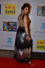 Laila Khan at Zee Awards red carpet in Filmcity, Mumbai on 8th Feb 2014 (170)_52f77c95283dc.JPG