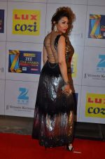 Laila Khan at Zee Awards red carpet in Filmcity, Mumbai on 8th Feb 2014 (171)_52f77c959eae4.JPG