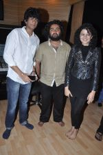 Music Director Palash Muchhal, Arijit Singh & Palak Muchhal celebrated after the song recording for Shilpa Shetty_s productions film _Dishkiyaaoon_.1_52f870bfe0e9d.JPG