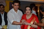 Aamir Khan,Sushila Rani Patel at the launch of Sagar Movietone in Khar Gymkhana, Mumbai on 11th Feb 2014 (168)_52fb1c543924e.JPG