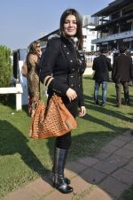 Kainaat Arora at Provogue AGP fashion show and race in RWITC, Mumbai on 16th Feb 2014 (371)_5301c9de51537.JPG
