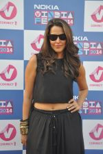 Neha Dhupia at  Channel V India Fest in Mumbai on 23rd Feb 2014 (36)_530b4f8fce9a3.JPG