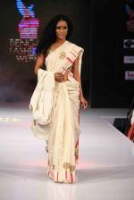 Model walk the ramp for Mona Pali at Bengal Fashion Week on 23rd Feb 2014 (29)_530c9f1603a93.jpg