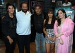 avitesh,shekhar kapur,aadesh,kaveri & vijayta at Avitesh Shrivastava 18th birthday at Hard Rock cafe,Andheri on 24th Feb 2014_530c3a99bac9d.jpg