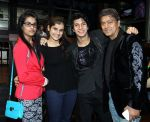 mehar,shivranjani,avitesh and aadesh at Avitesh Shrivastava 18th birthday at Hard Rock cafe,Andheri on 24th Feb 2014_530c3a9a5e961.jpg
