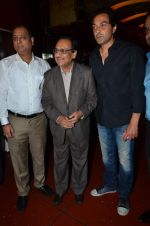 Bobby Deol, Ghulam Ali Sahab at the First look & theatrical trailer launch of Jal in Cinemax on 25th Feb 2014(167)_530dddccb52a9.JPG