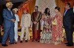 Govind Namdeo at Rajiv and Megha_s wedding reception in Sahara Star, Mumbai on 25th Feb 2014 (28)_530dd28a53992.JPG
