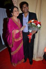 Johnny Lever, Tabassum at Rajiv and Megha_s wedding reception in Sahara Star, Mumbai on 25th Feb 2014 (70)_530dd44a5dff4.JPG
