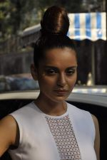Kangana Ranaut brand new look in Mumbai on 25th Feb 2014